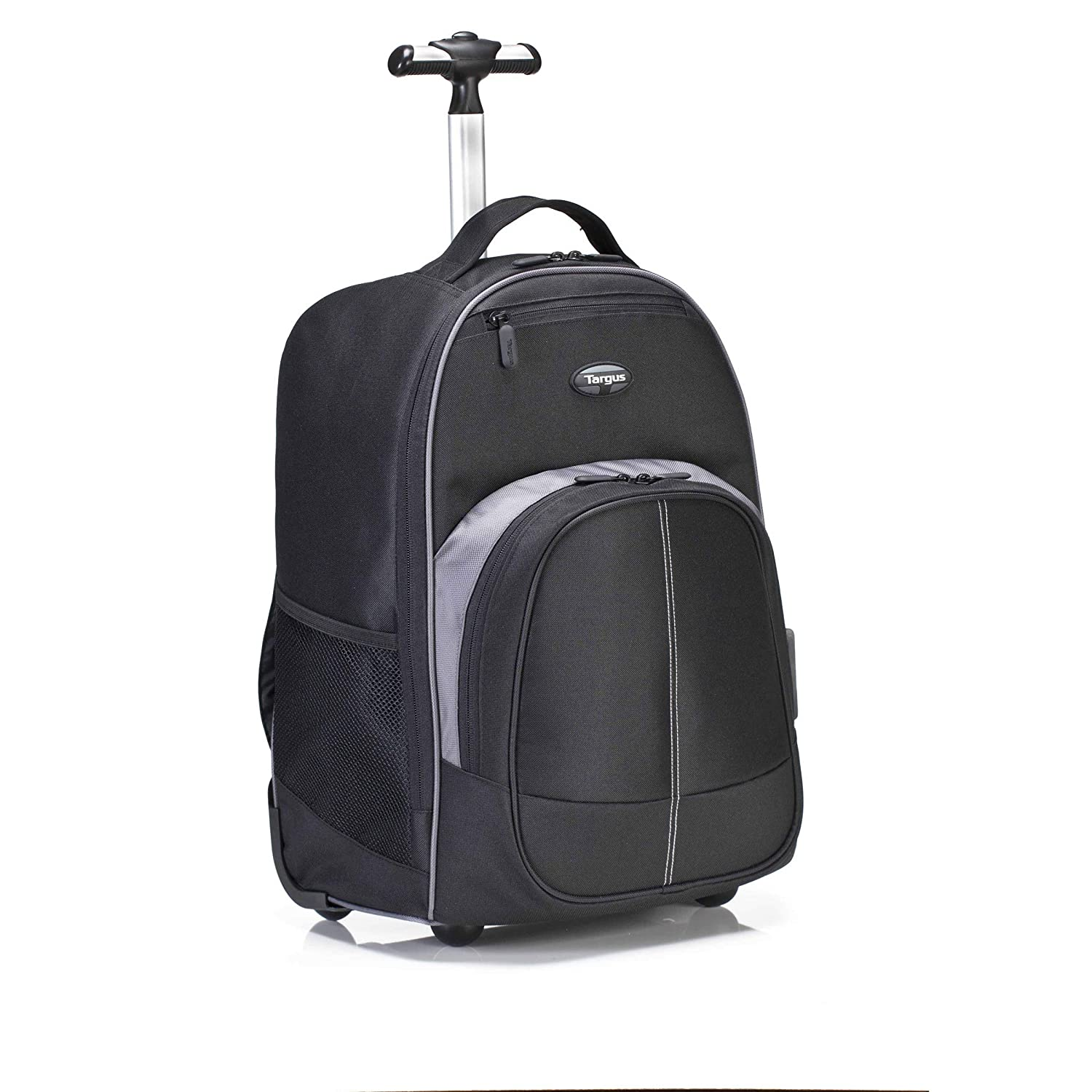 Targus Compact Rolling Business and Travel Commuter Backpack for 16-Inch Laptop, Black TSB750US