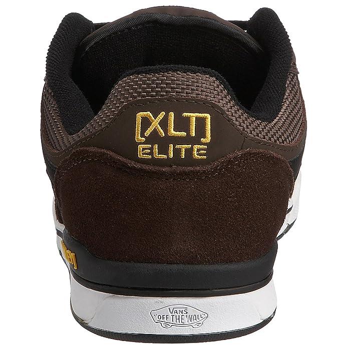 7356b53bbf Vans Men s Rowley XLT Elite LS Skateboarding Shoe demitasse black VF7Q4AR 6  UK  Amazon.co.uk  Shoes   Bags
