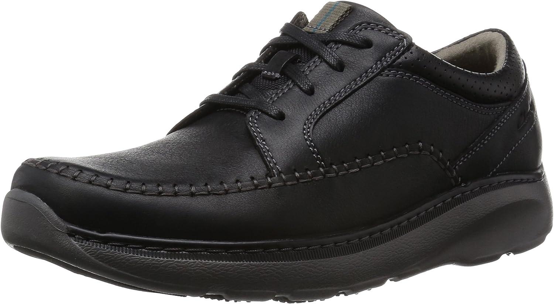 TALLA 42.5 EU. Clarks Charton Vibe, Zapatos de Cordones Derby para Hombre