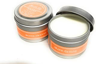 product image for Barr Co Travel Candles in Jar Set of 2 (Blood Orange) (2oz)