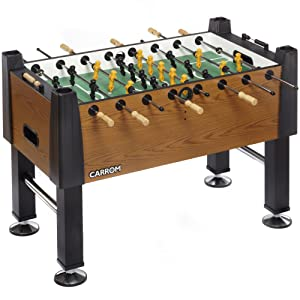 Carrom Signature 55 in. Foosball Table Color:Burr Oak