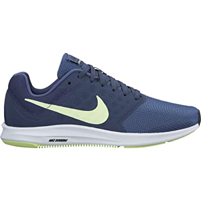 quality design 0cd91 fd9d0 Nike Women s Downshifter 7 Running Shoe Blue Recall Barely Volt Thunder  Blue Size 7 M US  Amazon.in  Shoes   Handbags