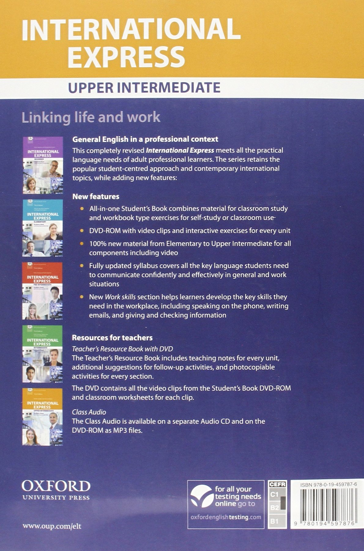 International Express Upper-intermediate Students Book