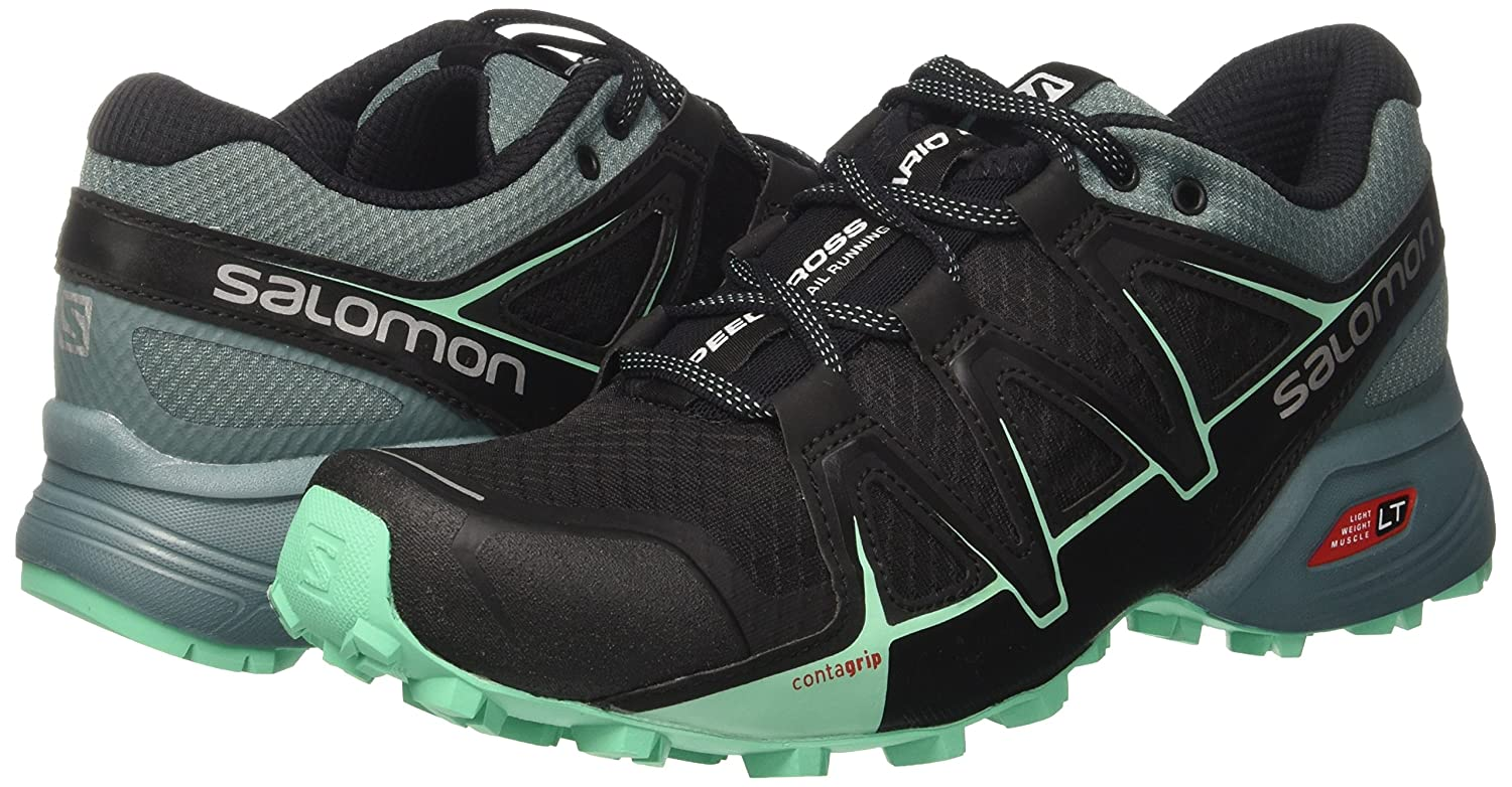 Salomon Women's Speedcross 8.5 Vario 2 W Backpacking Boot B01N98BE1J 8.5 Speedcross B(M) US|Black 25fca7