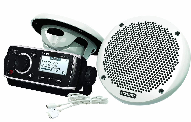 注目のブランド Fusion MS-RA50KTSBC FUSION B00D3Y47VS RA-50KTSCB MS-HUGMS Bundle - MS-EL602 Includes MS-RA50 Receiver, MS-EL602 Speakers, MS-HUGMS Gimbal Mount & MS-IP15L3 iPod Cable B00D3Y47VS, プリザーブド&花雑貨 My Treat:52d8bdc5 --- staging.aidandore.com
