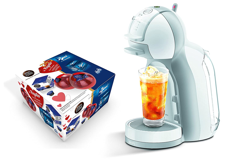 Nescafé Dolce Gusto Mini Me White & Grey kp1201kb Krups unidades especial Baci Perugina, Máquina para café espresso y otras bebidas, automática: Amazon.es: ...