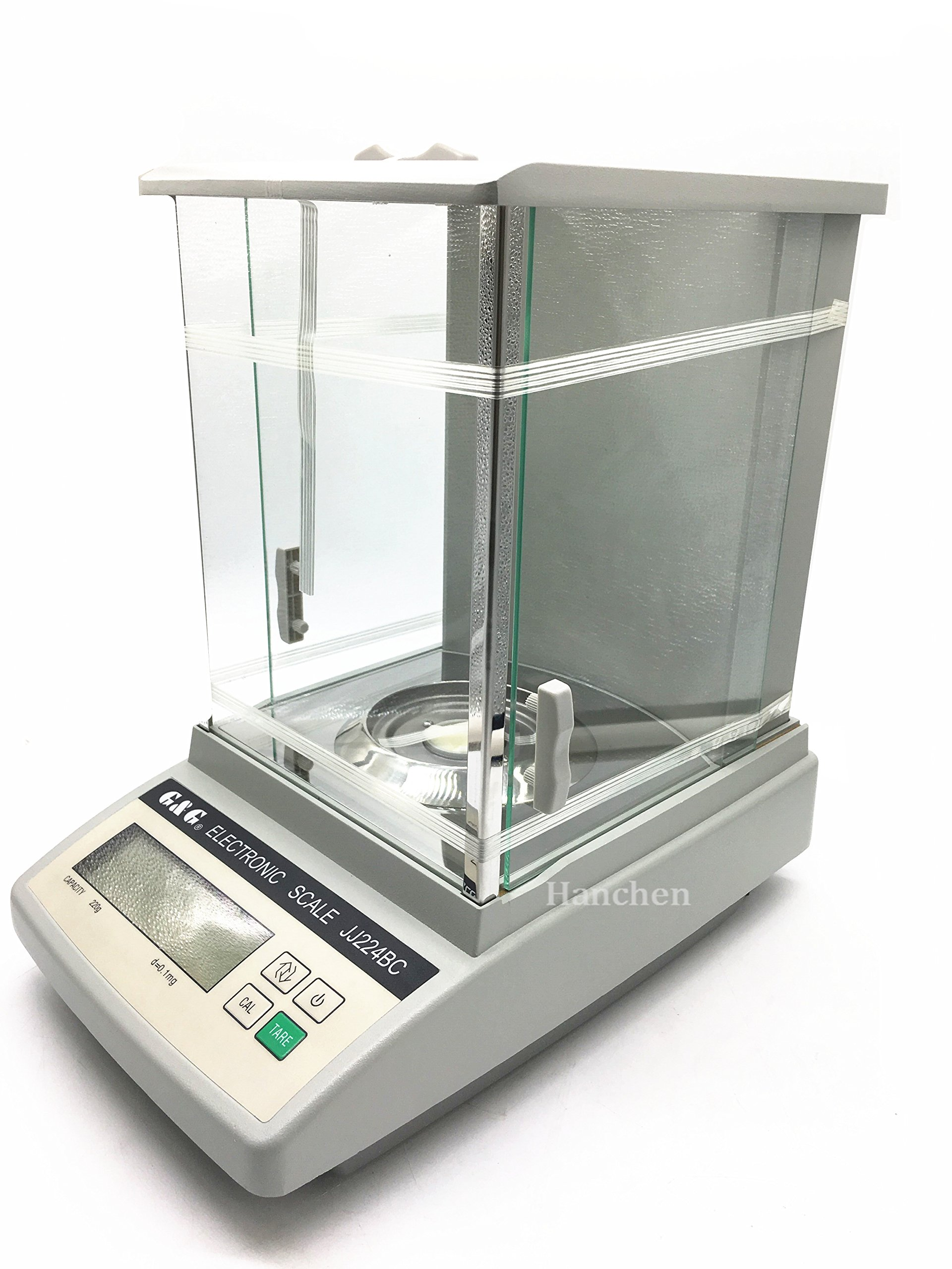 220g 0.0001g Analytical balance JJ224BC High-Precision Digital Balance Scale For Laboratory Pharmacy 220g/0.1mg 110v/220v by Hanchen Instrument®