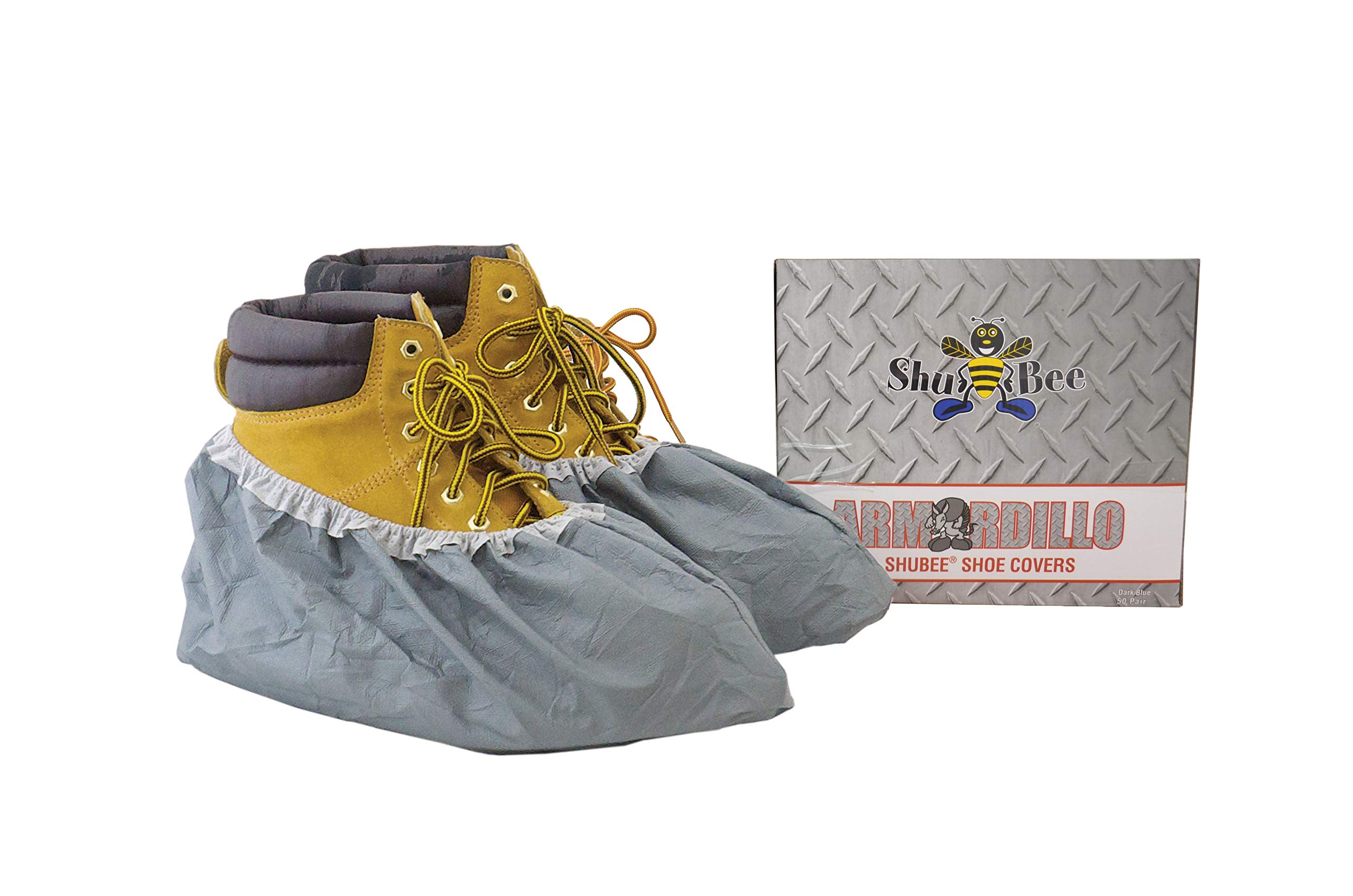 Shubee C SB SC ARM Shoe Covers, Grey, (50 Pair) by ShuBee