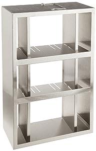 "Thermo Scientific Side Access Freezer Rack, 4 Door, 15-3"" Box, 26.5"" D x 5.4"" W x 10.9"" H"