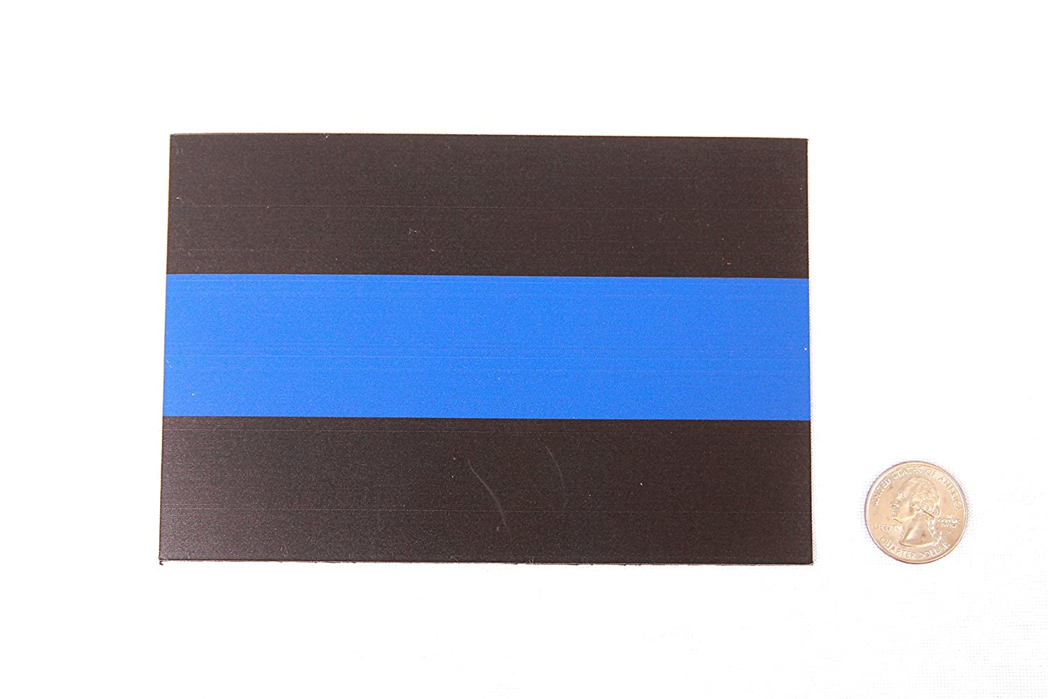 Heavy Duty for Car Truck SUV Thin Blue Line Magnet Decal in Support of Police and Law Enforcement Officers Magnet Me Up