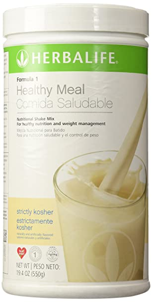 Amazon.com : Herbalife Formula 1 (Strictly Kosher), 19.4oz(550g) : Grocery & Gourmet Food