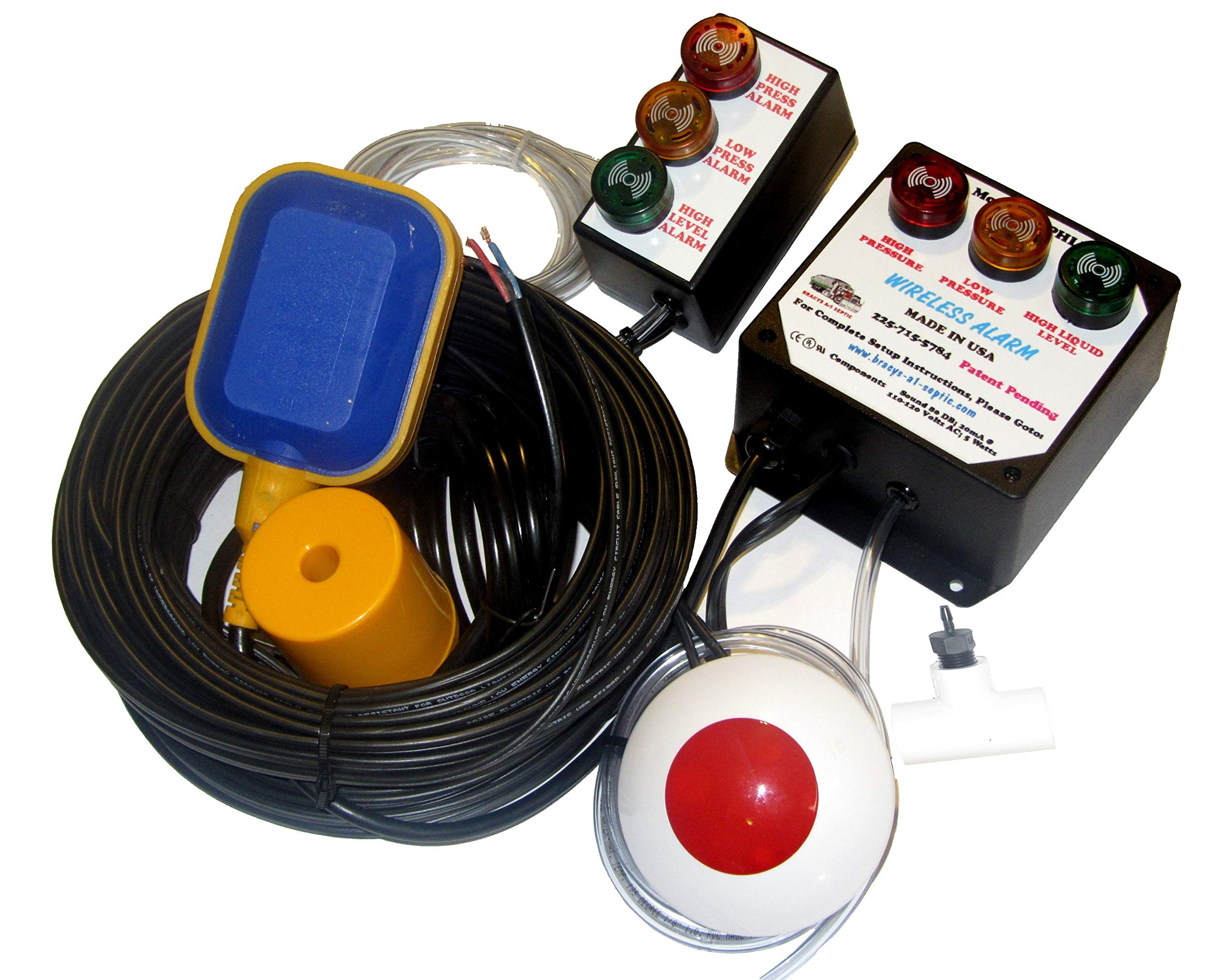 Three Parameter Septic System Alarm (Standard) by Bracys A-1 Septic (Image #3)