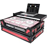 ProX XS-DDJSX WLTRB Flight Case for Pioneer DJ DDJ-SX DDJ-RX & Denon MCX7000 With Sliding Laptop Shelf, LED Lights and…