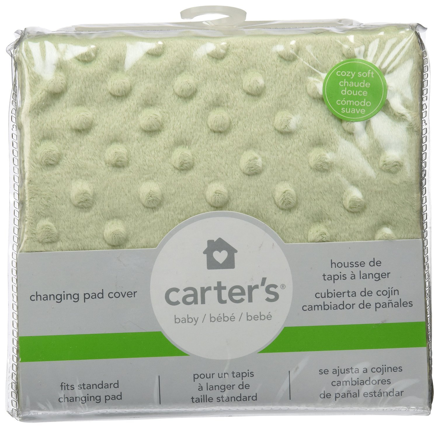 Amazon.com : Carters Super Soft Changing Pad Cover, Apple Green (Discontinued by Manufacturer) : Baby Bathing Products : Baby