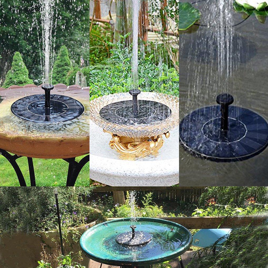 Foglia Di Galleggiante Pompa Fontana Solare Con Pannello Stagno Solare 1.4W Per