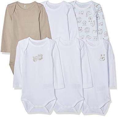3c671e5e38abf Name It Grenouillère Mixte bébé (Lot de 6)  Amazon.fr  Vêtements et  accessoires
