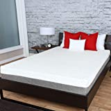 "Travel Happy (Custom Size Requests) A 12 INCH Narrow King (72"" x 80"" Inches) Cooler Sleep Graphite Gel Memory Foam Mattress Premium Textured 8-Way Stretch Cover Made in The USA"