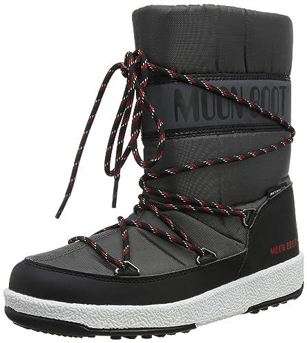 7516b1014335c Moon-boot Jr Boy Sport Wp Snow Boots: Amazon.co.uk: Shoes & Bags