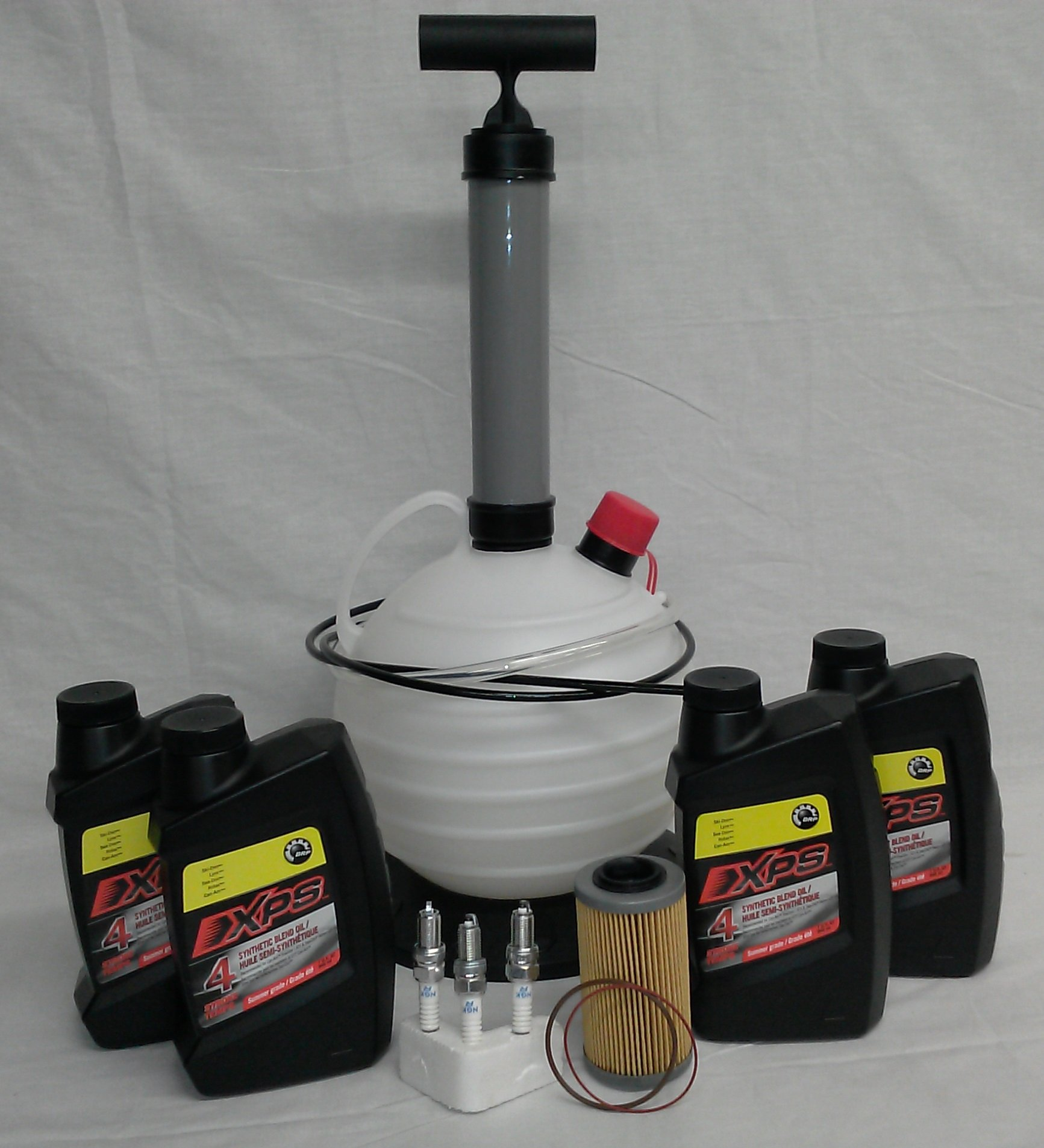 Sea Doo Oil Change Kit 4 Tec Four Stroke SeaDoo PWC GTX RXP RXT GTI With Ultimate Oil Pump by Can-Am