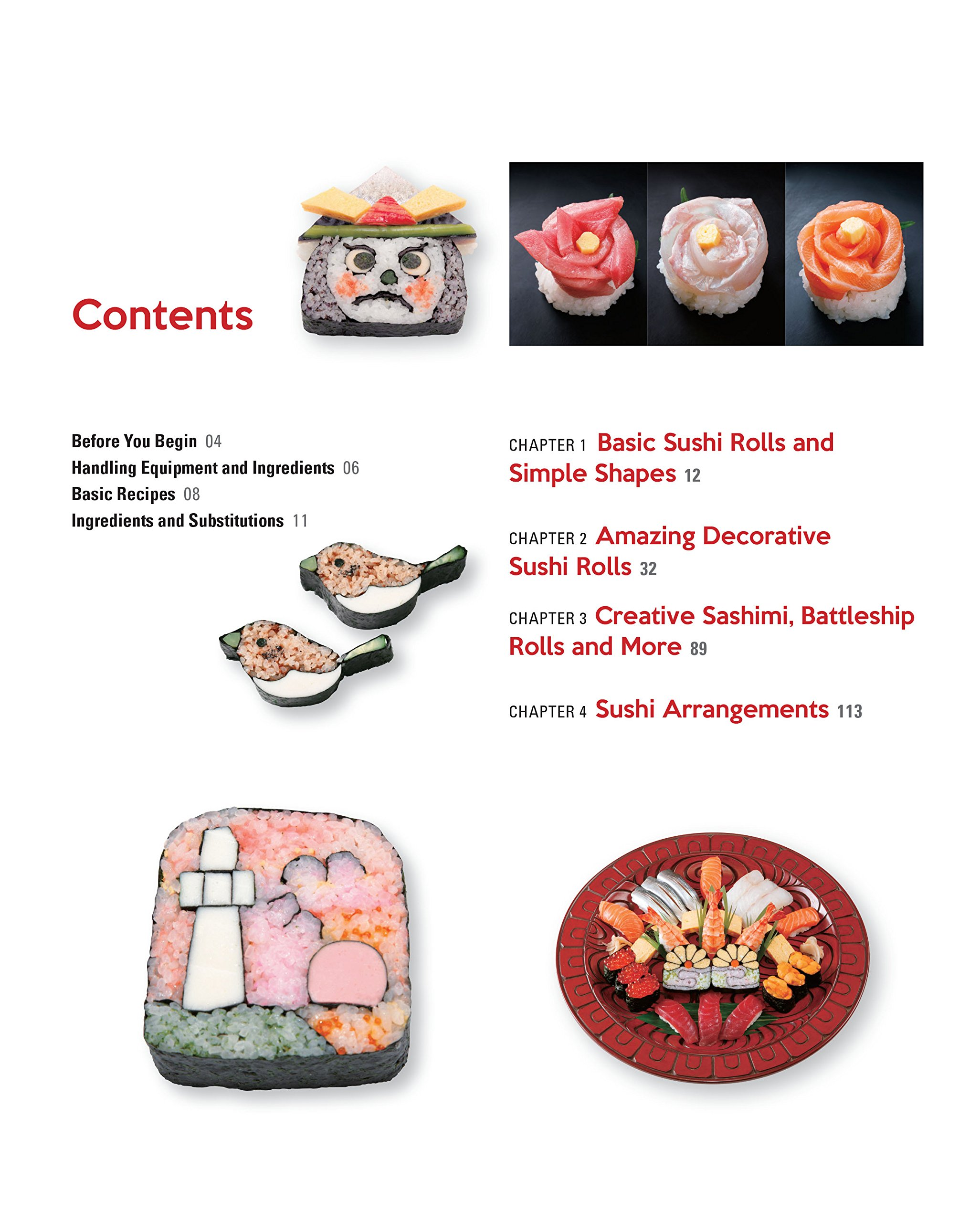 Sushi Art Cookbook: The Complete Guide to Kazari Sushi: Ken Kawasumi ...