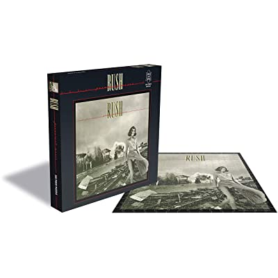 Rush Jigsaw Permanent Waves Album Cover Official 500 Piece: Home & Kitchen