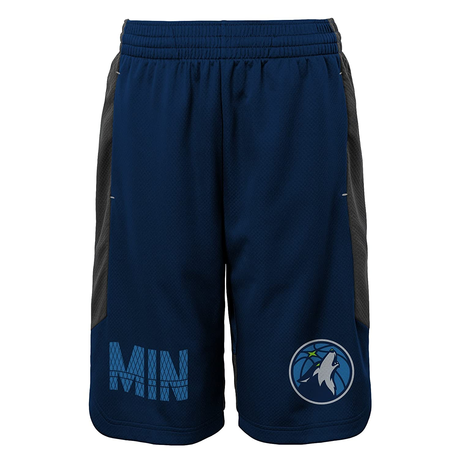 5-6 NBA Kids /& Youth Boys Jump Ball Short Minnesota Timberwolves-Charcoal-M