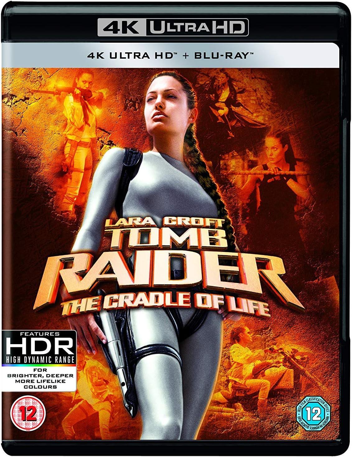 Lara Croft Tomb Raider The Cradle Of Life 4k Uhd Plus Bd Blu