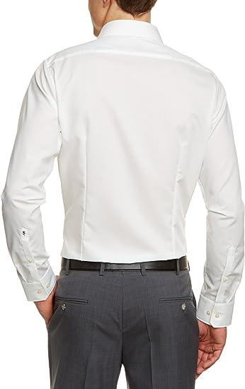 021001 Herren Hemd 1//2 Arm Bügelfrei Schwarze Rose Seidensticker Tailored