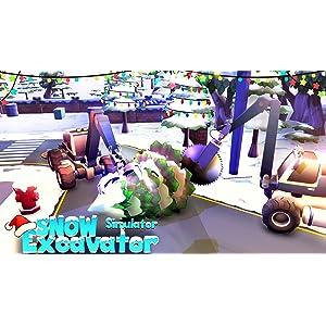 Heavy Snow Plow Excavator Simulator Game 2019: Amazon.es ...