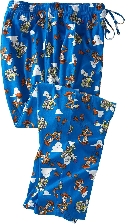 KingSize Mens Big /& Tall Licensed Novelty Pajama Pants Pajama Bottoms