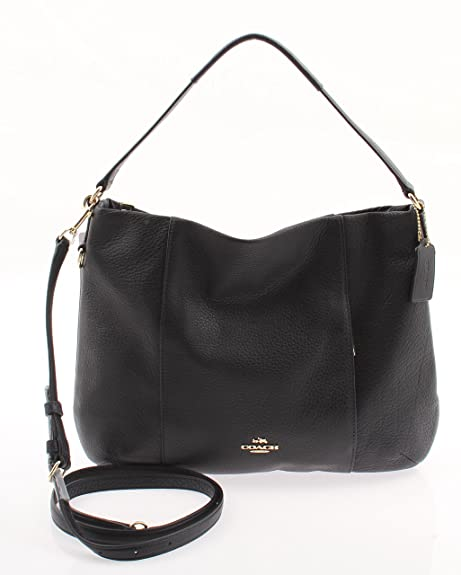 270e6ac7e005 Coach East West Isabelle Shoulder Bag in Pebble Leather (Midnight) - F35809  IMMID  Amazon.ca  Shoes   Handbags
