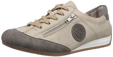 5705126d187fb0 Rieker L9044 Damen Sneakers  Amazon.de  Schuhe   Handtaschen