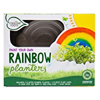Deals on CREATIVE ROOTS Paint Your Own Rainbow Planter by Horizon Group USA Toy