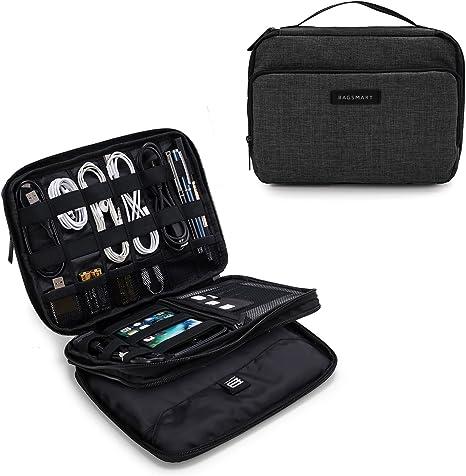 Amazon.com: BAGSMART Organizador de cables electrónicos de ...