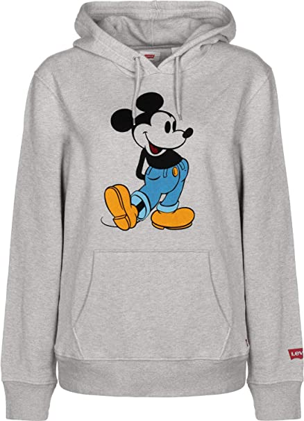 Levis® - Sudadera Levis Mickey Hombre Color: 0043 Gris Talla: Size XS
