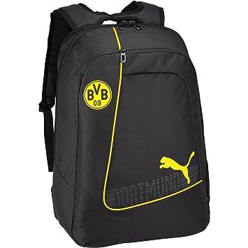 Puma BVB Evopower - Mochila Unisex para fútbol, Unisex, Rucksack BVB Evopower Football Backpack, Cyber Yellow/Black, UA: Amazon.es: Deportes y aire libre