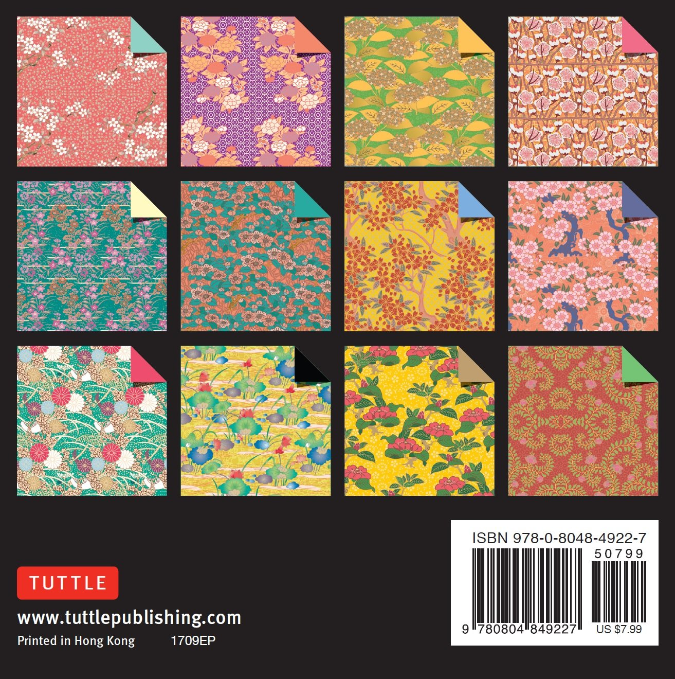 JAPANESE ORIGAMI PAPER 150 SHEET WASHI CHIYOGAMI 30 DIFFERENT PRINT 15cm