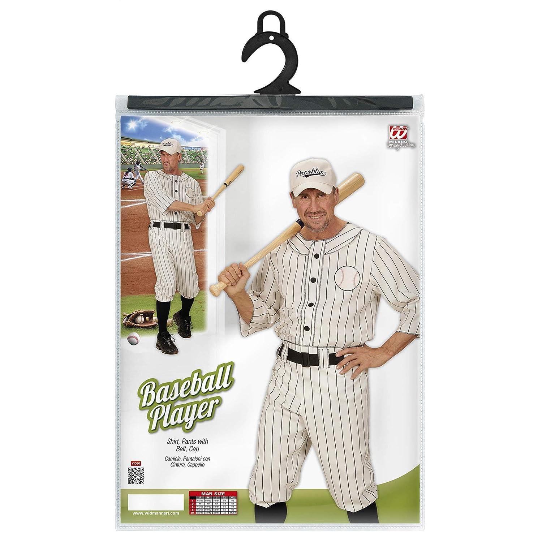 WIDMAN Jugador de béisbol - Adulto Disfraz - XL - 54/56