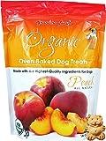 Organic Baked Dog Treats - Peach - 14oz