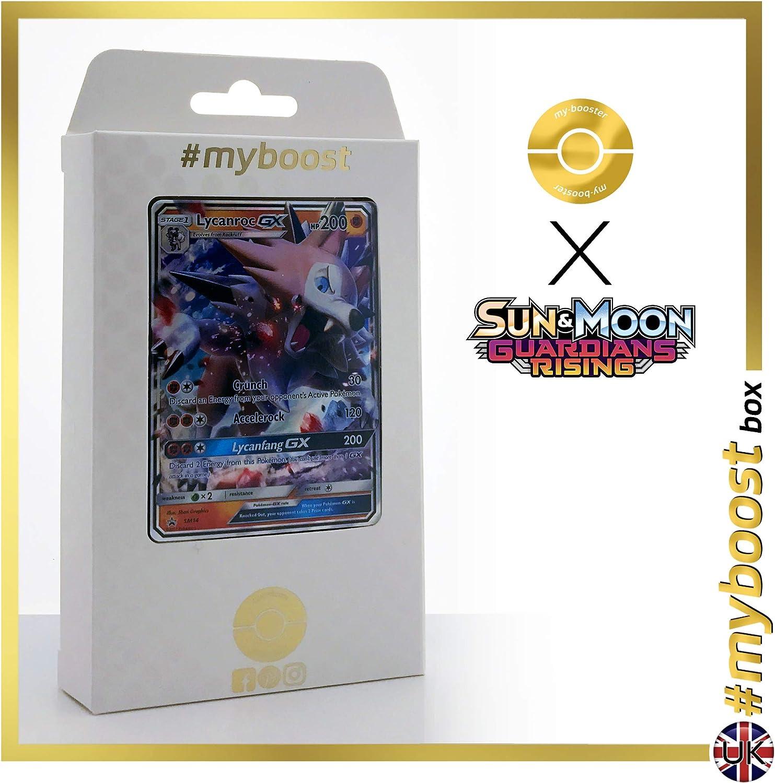 LYCANROC GX SM14 - #myboost X Sun & Moon 2 Guardians Rising - Caja ...