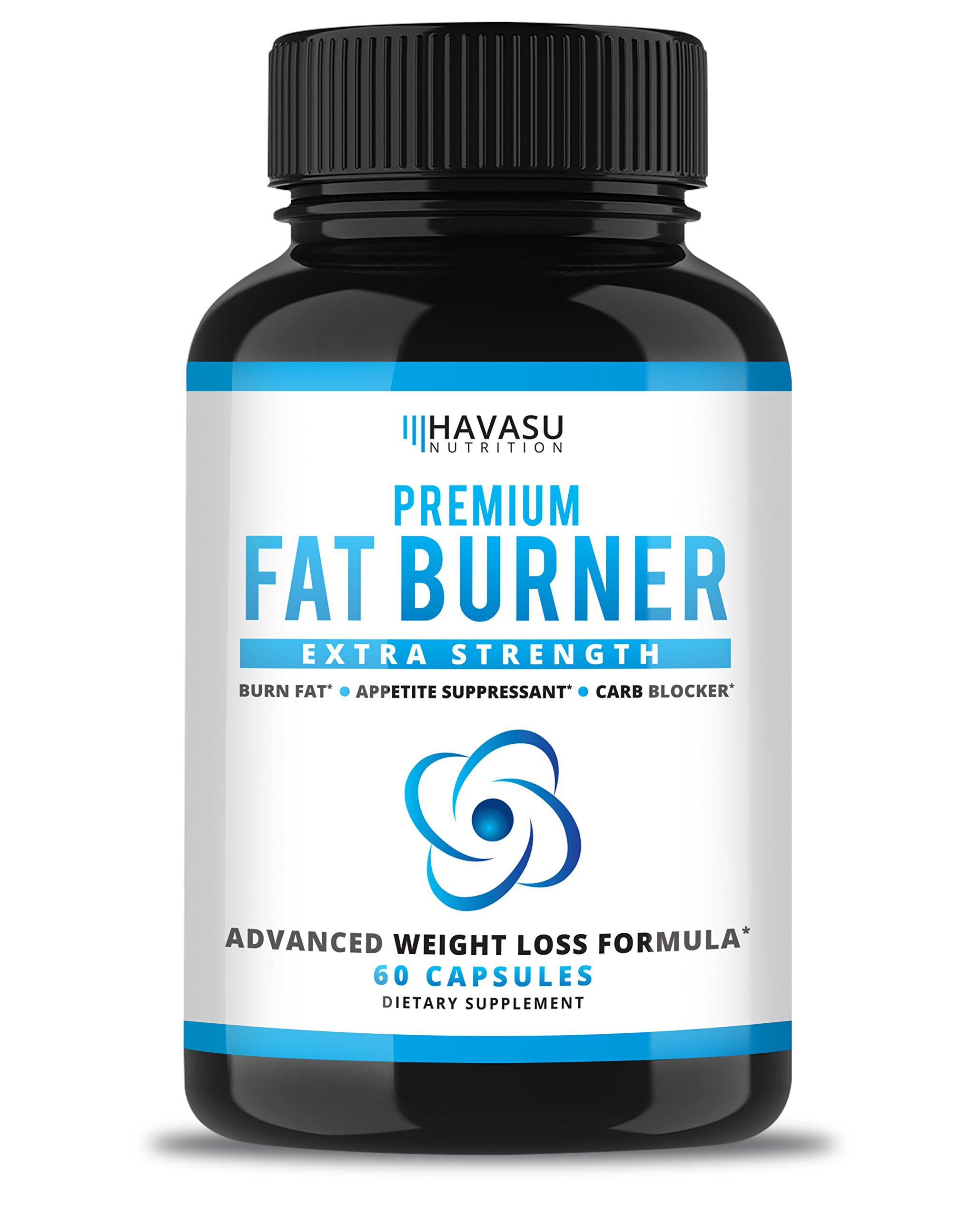 Havasu Nutrition Extra Strength Weight Loss Pills and Keto Appetite Suppressant - CLA, Green Tea Extract, Apple Cider Vinegar, White Kidney Beans - Fat Burner & Metabolism Booster, 60 Capsules by Havasu Nutrition