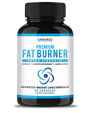 Havasu Nutrition Extra Strength Weight Loss Pills And Keto Appetite Suppressant Cla Green Tea