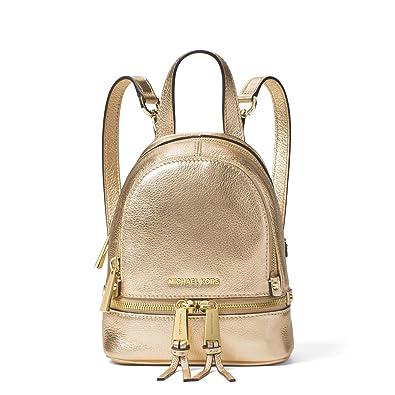 86f69f2dcdd5 cheap michael kors extra small logo backpack c7610 f69db
