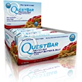 Quest Nutrition QuestBar Protein Bar Peanut Butter and Jelly -- 12 Bars