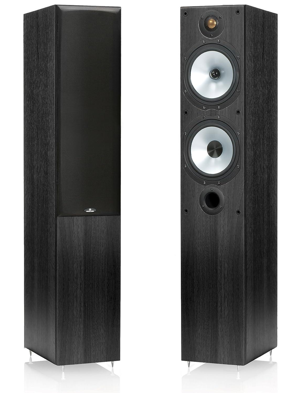 Monitor Audio mr4 Floorstandingスピーカー、ペア(ブラックオークビニールラップ) B0071LSA7Q