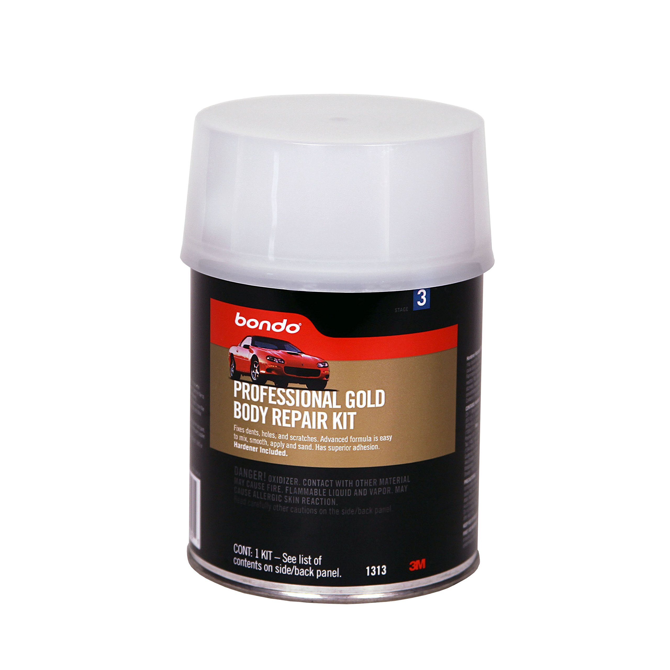 3M 01313 Professional Gold Body Repair Kit - 1 Quart