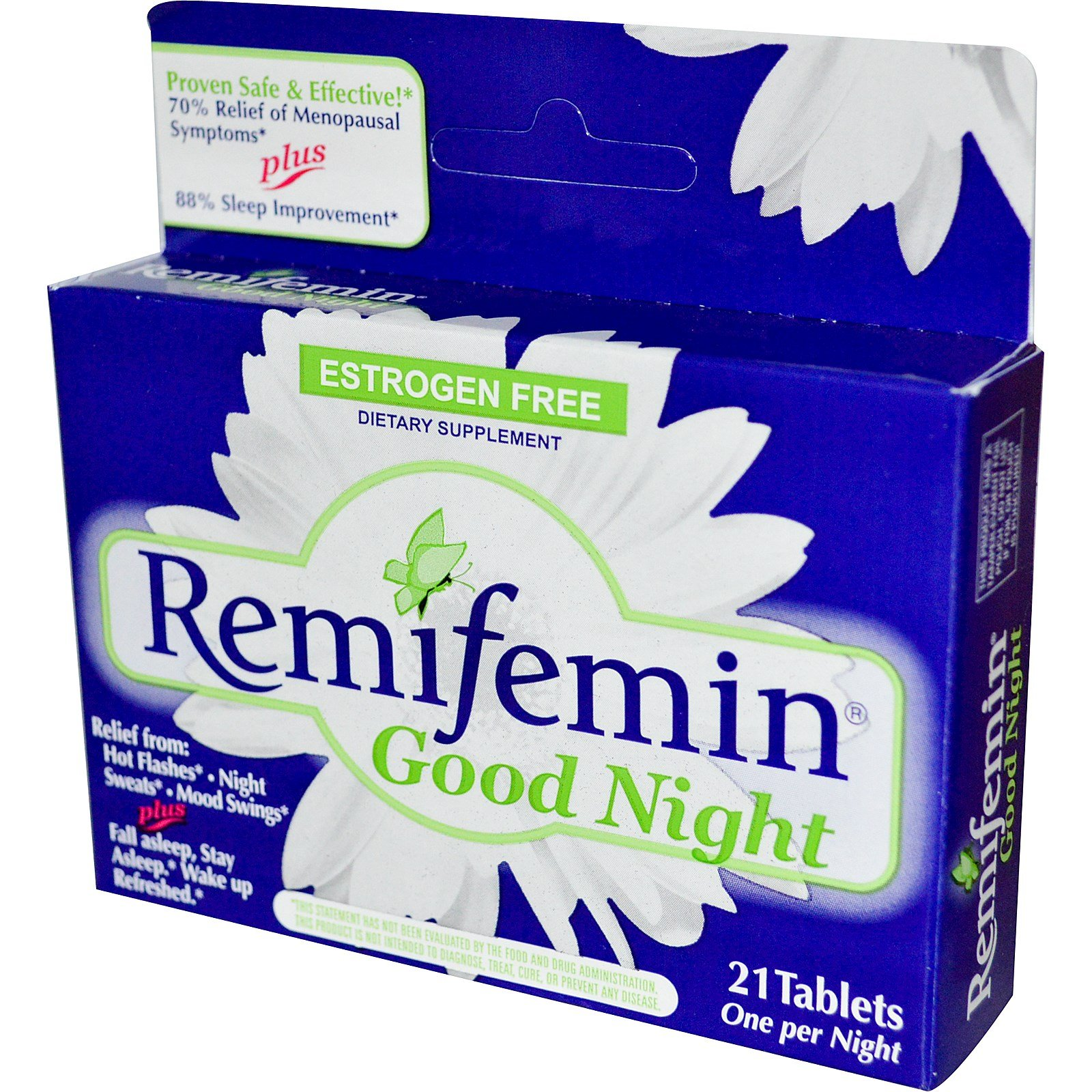 Enzymatic Therapy - Remifemin Good Night 21 Tabs (Pack of 3)