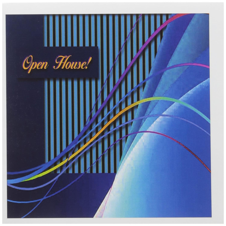 3dRosa 20,3 x 20,3 x x x 0,6 cm Open House Abstrakt Kurven und Linien Grußkarte, Set 12 (GC _ 43292 _ 2) B007N8TQ0C | Genialität  22ce02
