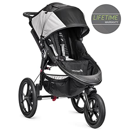 Baby Jogger Summit X3 Single Stroller, Black Gray