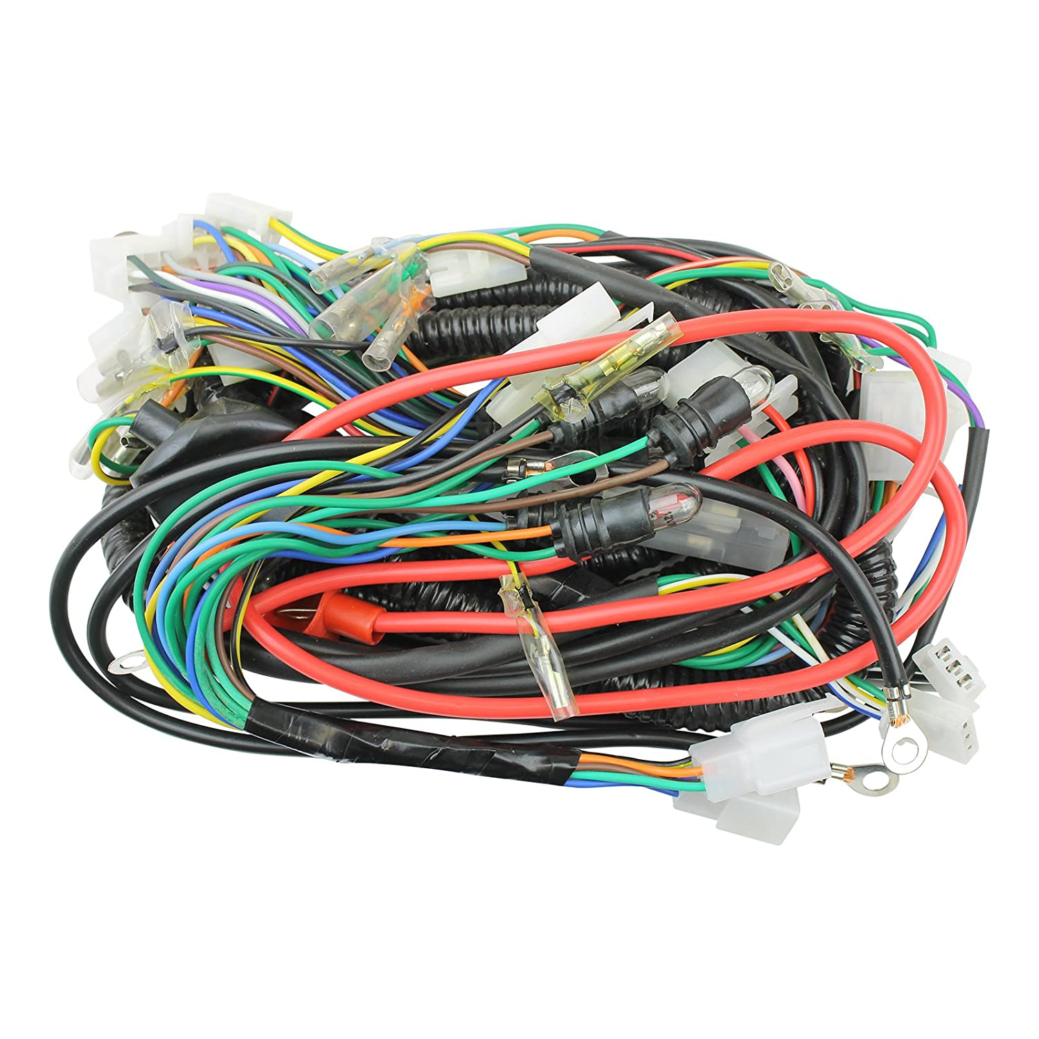 Vip Champion Scooter Wiring Harness Trusted Diagrams Wire Diagram Tao Amazon Com Taotao 50cc Complete New Honda